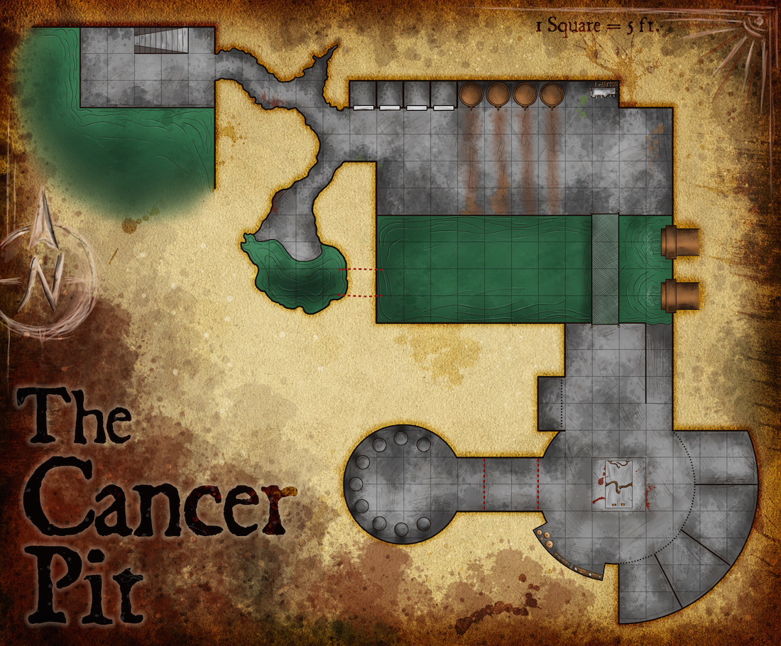 121 – The Cancer Pit – Sewers Adventure Part 2
