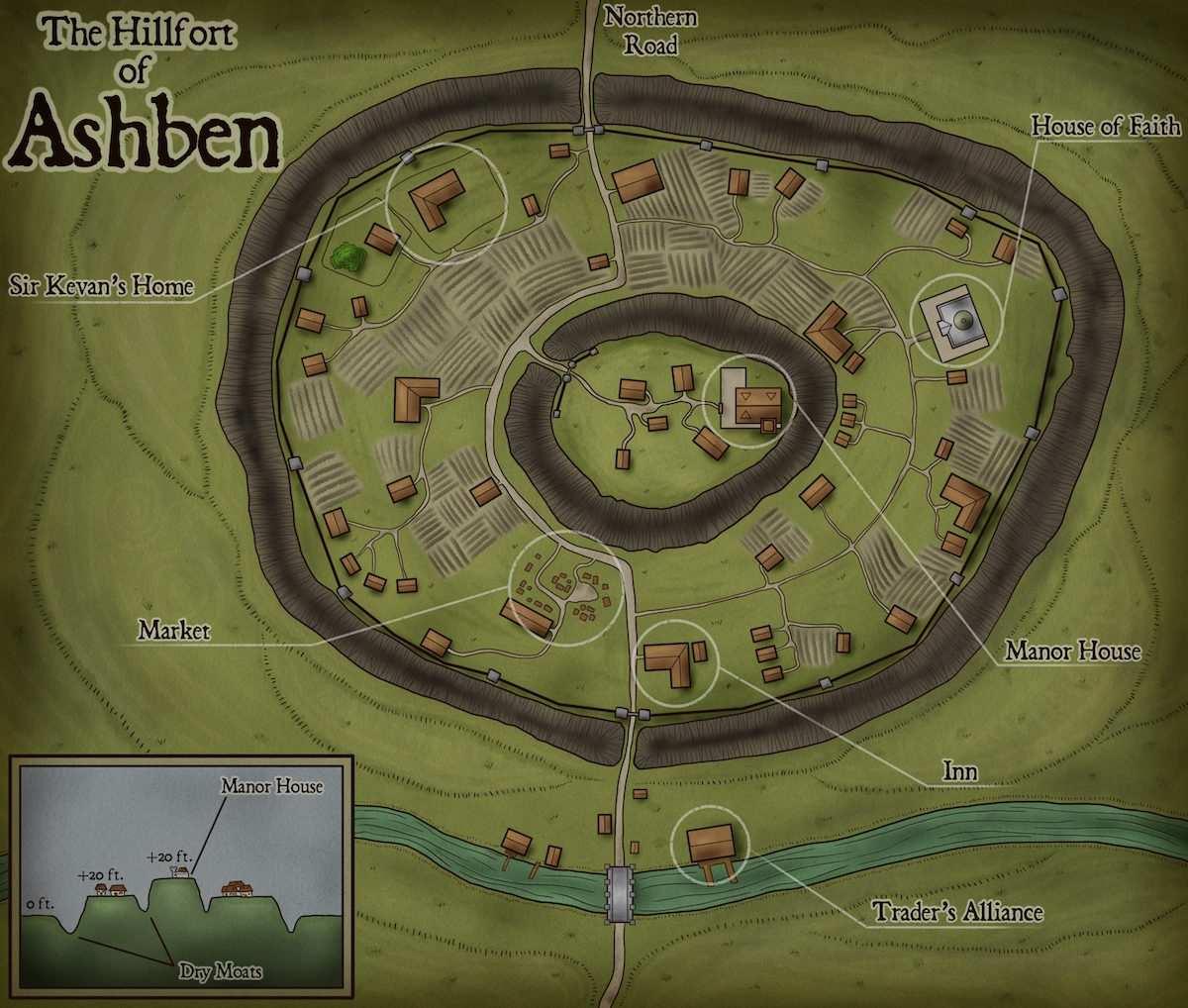 127 – The Hillfort of Ashben