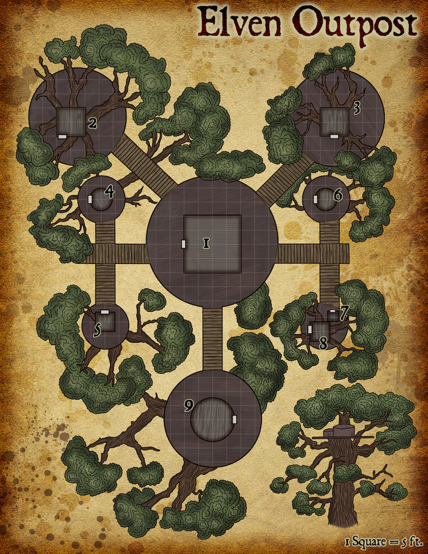 138 Elven Outpost