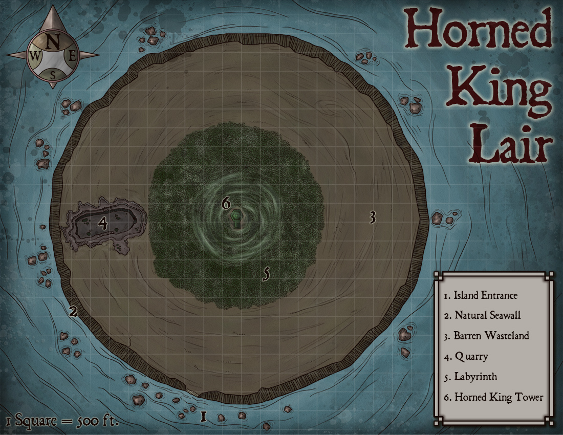 143 – Horned King Lair