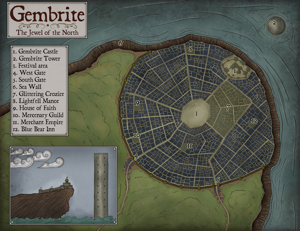147 Gembrite City