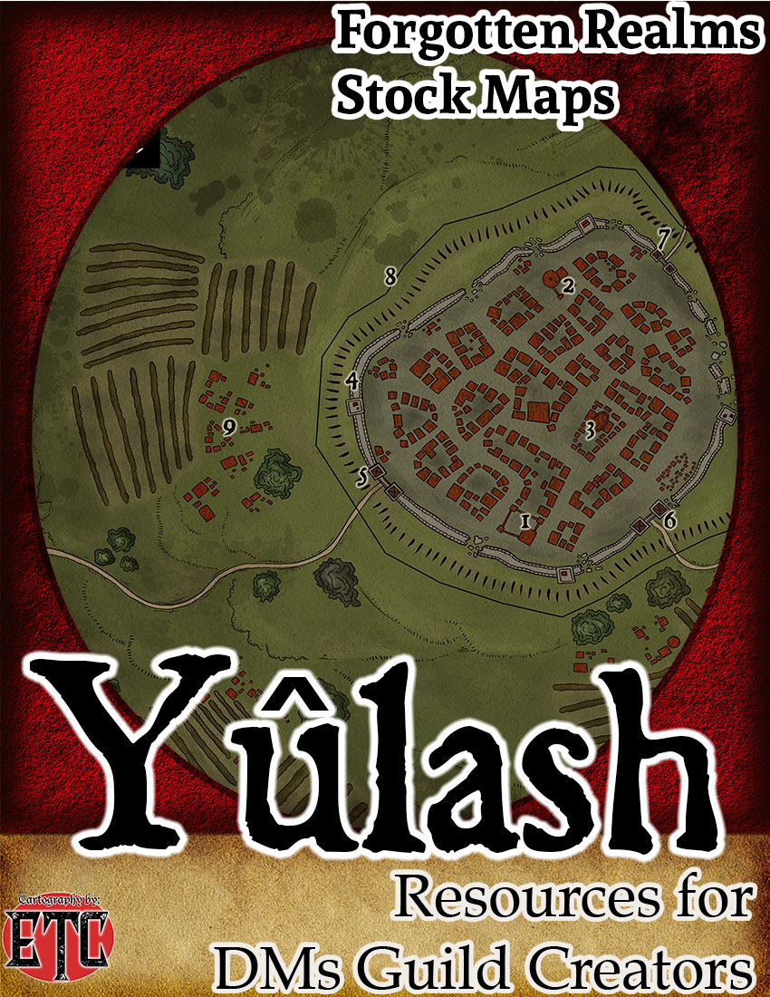 Yûlash –  Forgotten Realms Stock