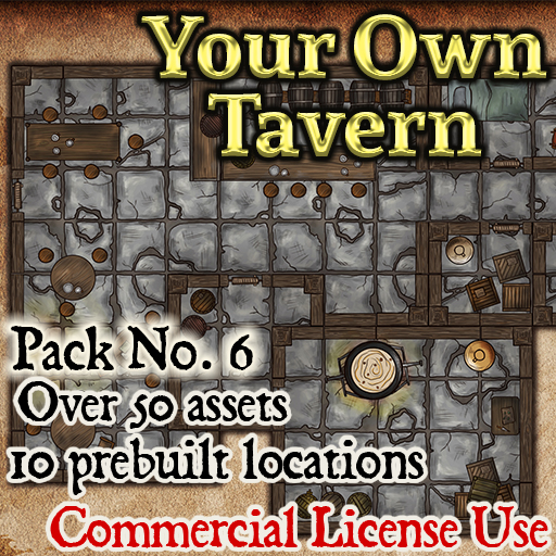 Pack No.6 – Your Own Tavern – Roll20