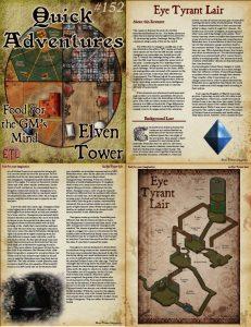 152 Eye Tyrant Lair | Elven Tower