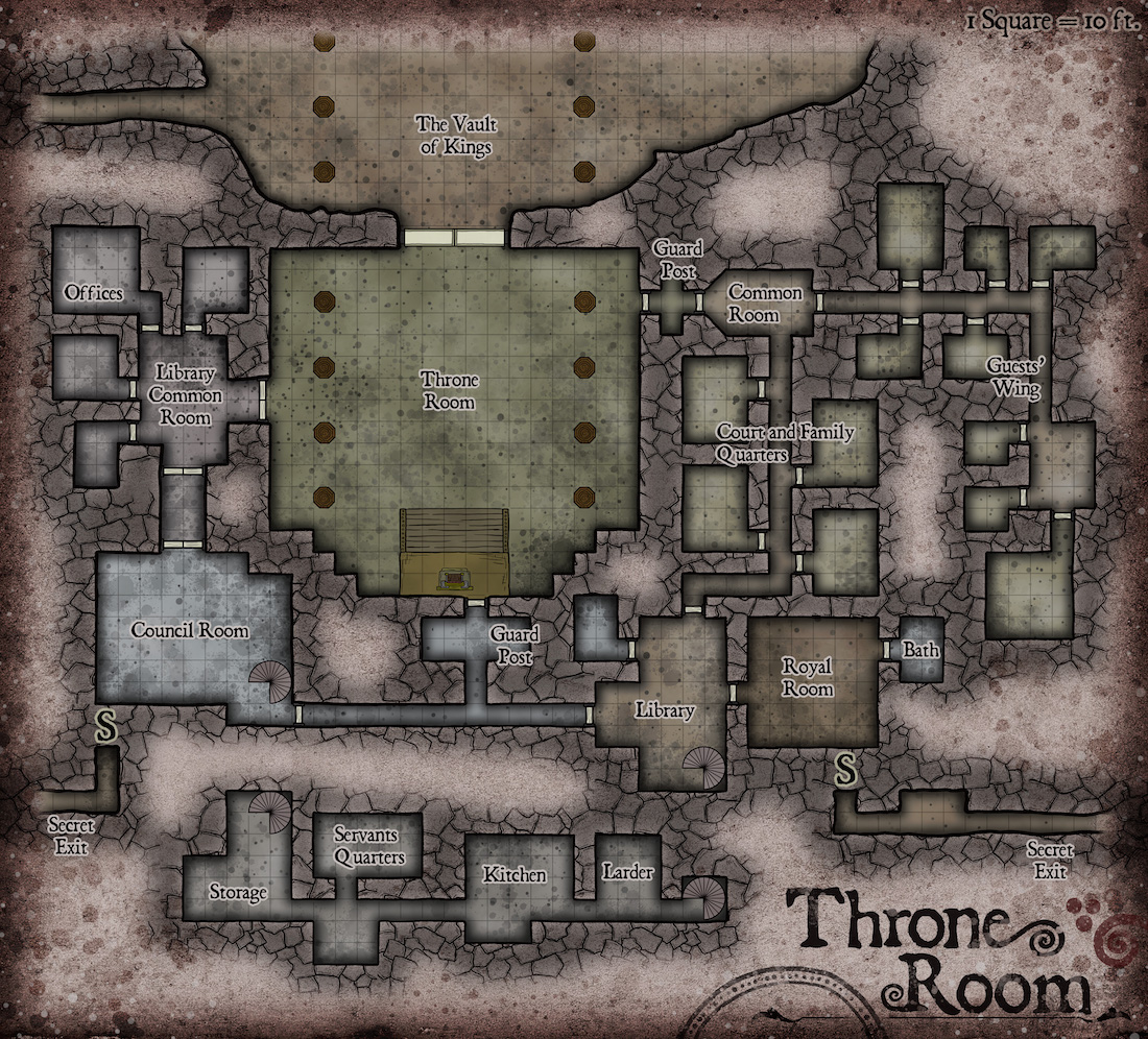 165 Dwarven Throne Room