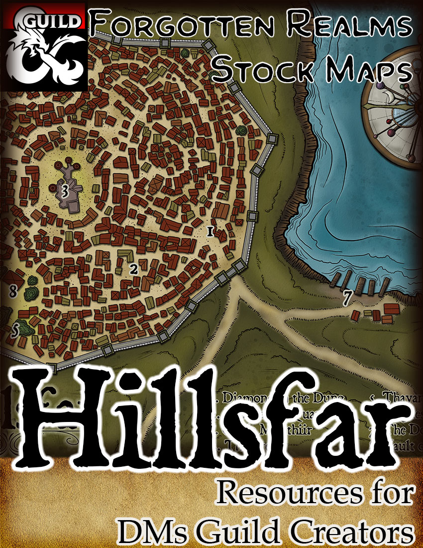 Hillsfar – Forgotten Realms Stock
