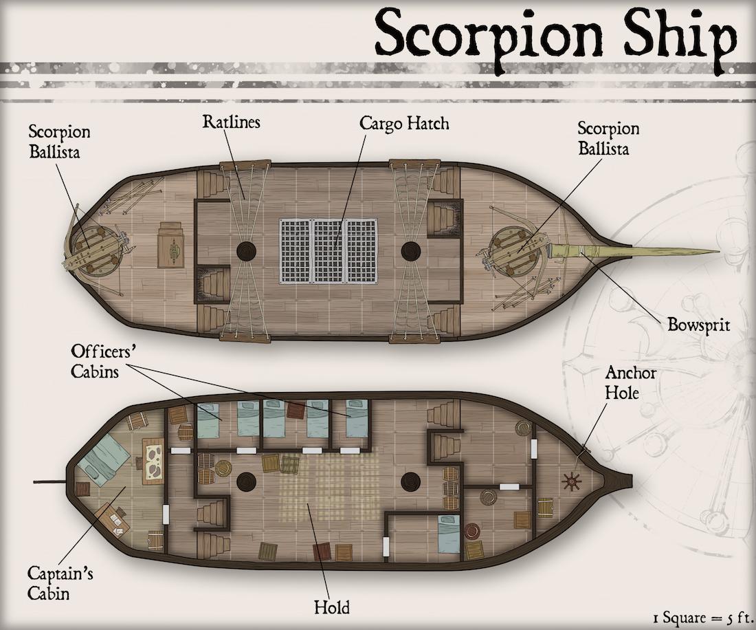 173 Scorpion Ship