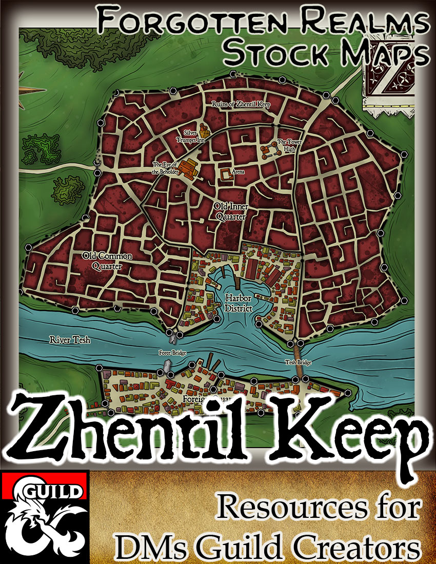 Zhentil Keep – Forgotten Realms Stock