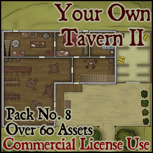 Pack No.8 – Your own Tavern II – Roll20