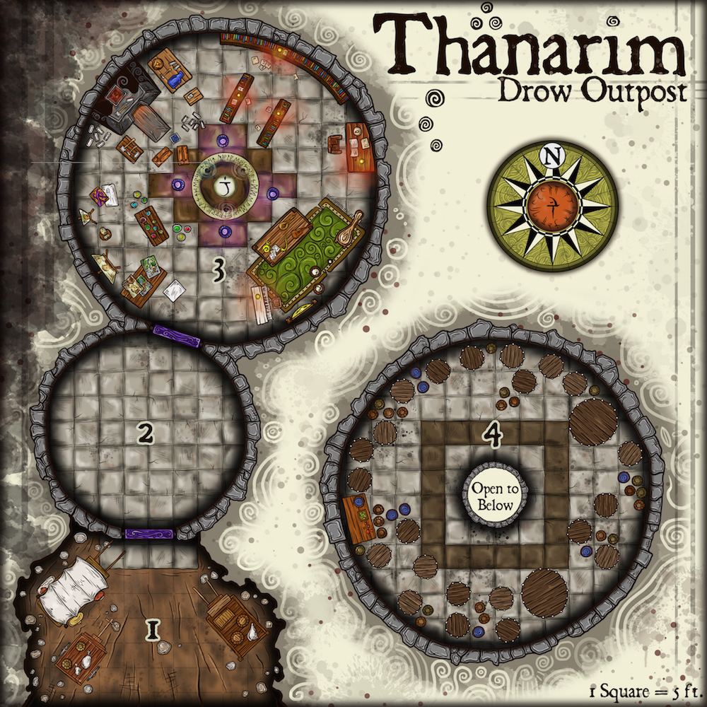 189 Thanarim – Drow Outpost