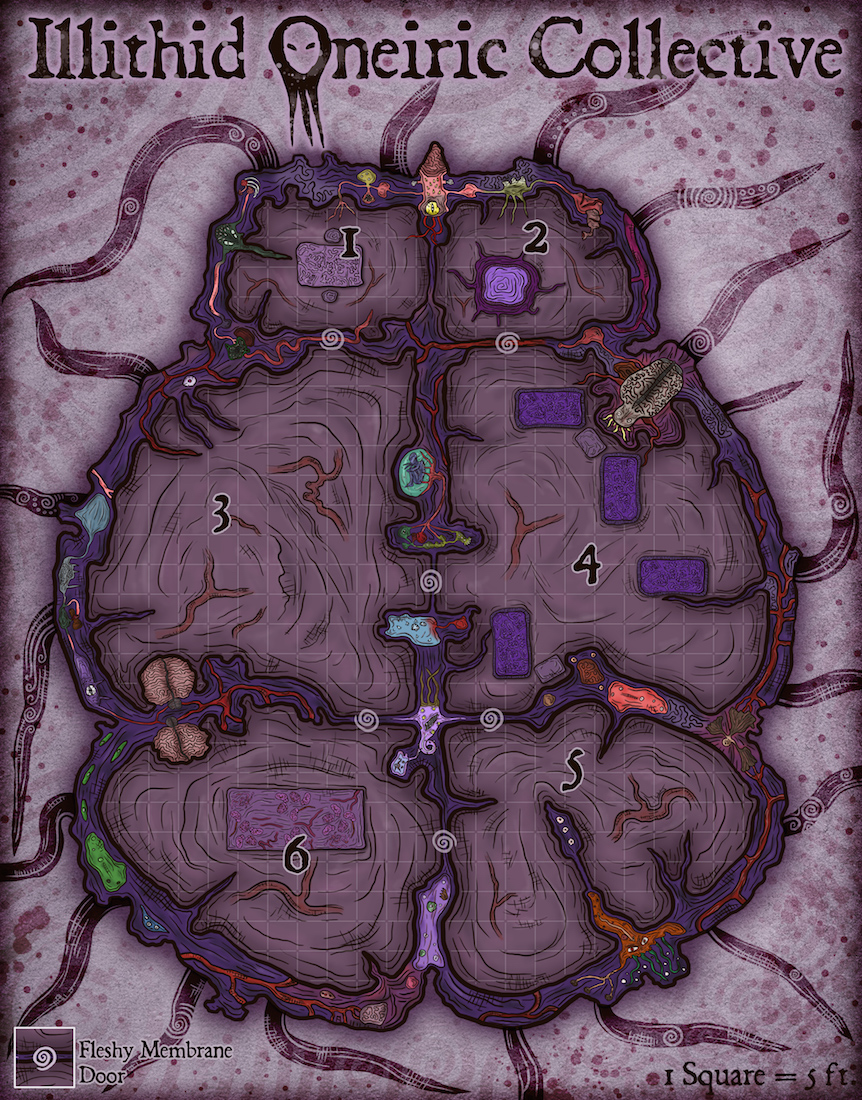 190 Illithid Oneiric Collective
