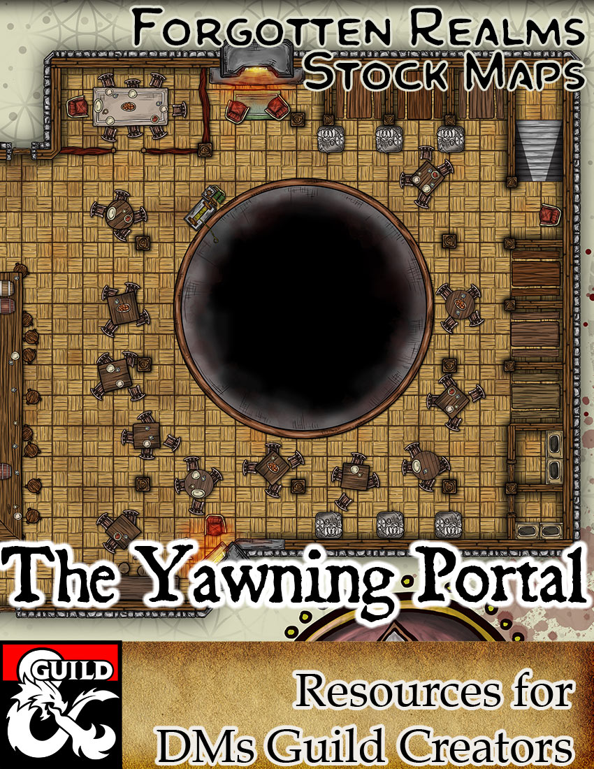 The Yawning Portal – Forgotten Realms Stock Art