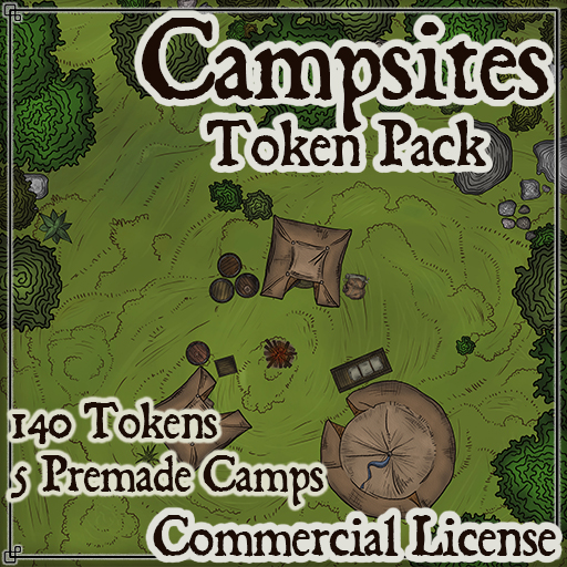 Pack No.9 – Campsites – Roll20