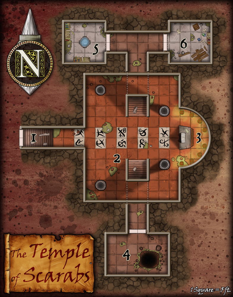 198 Temple of Scarabs