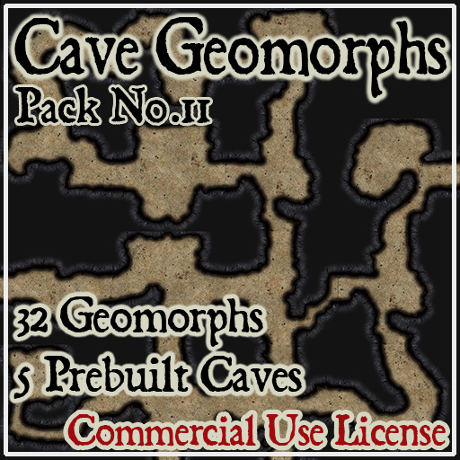 Pack No.11 – Cave Geomorphs – Roll20