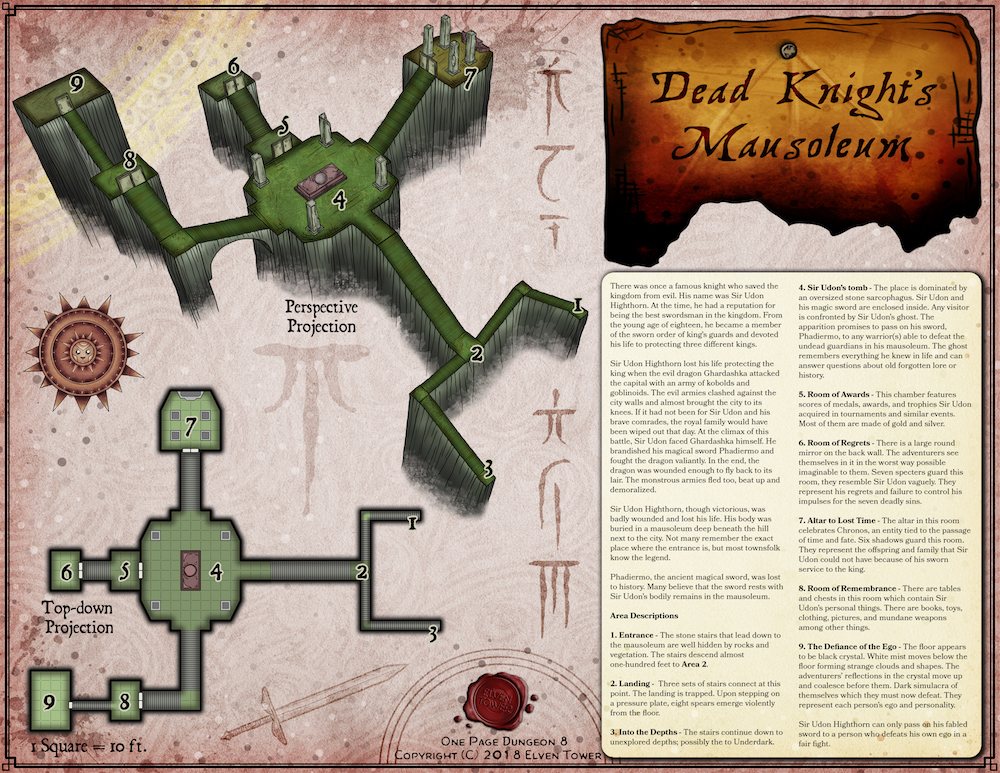 OP 8 – Dead Knight's Mausoleum