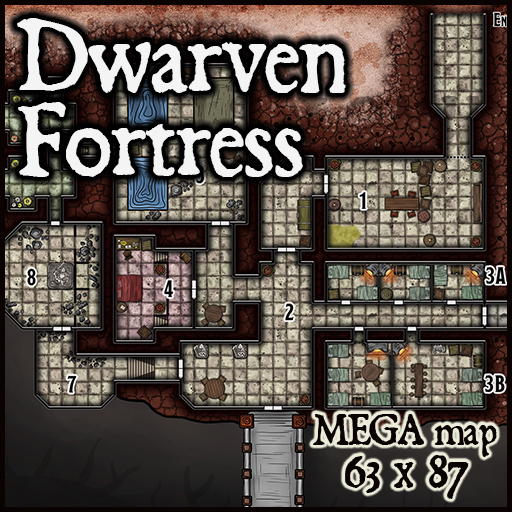 201 Dwarven Fortress Nazammar (Patreon Exclusive)