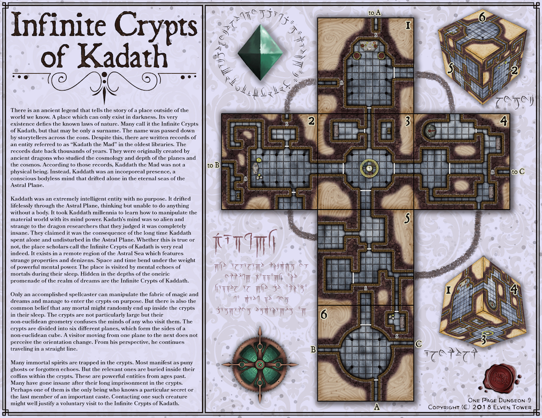 OP 9 – Infinite Crypts of Kadath