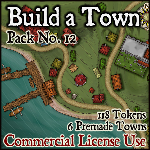 Pack No.12 – Build a Town – Roll20