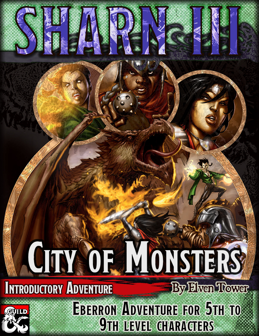 Sharn III – City of Monsters