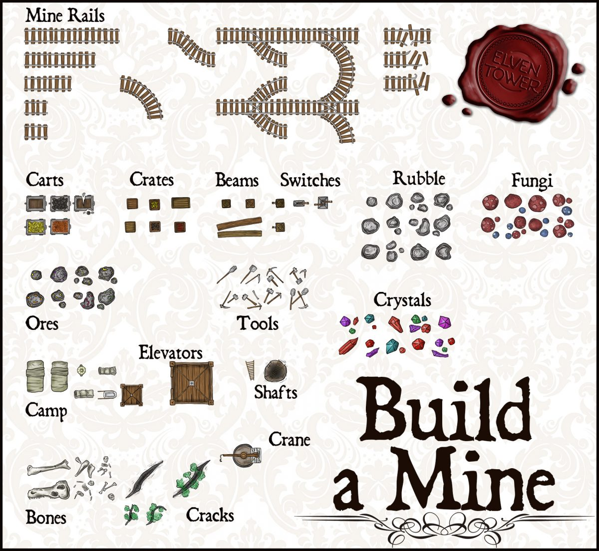 Pack No. 13 – Build a Mine