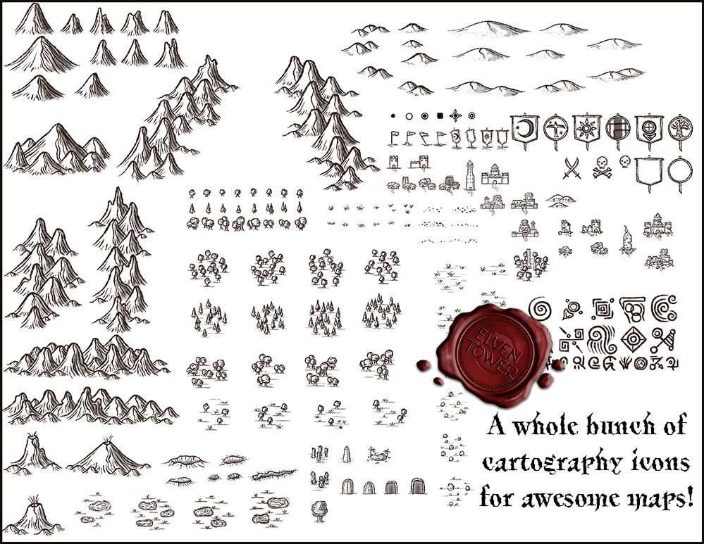 Cartography Icons Pack