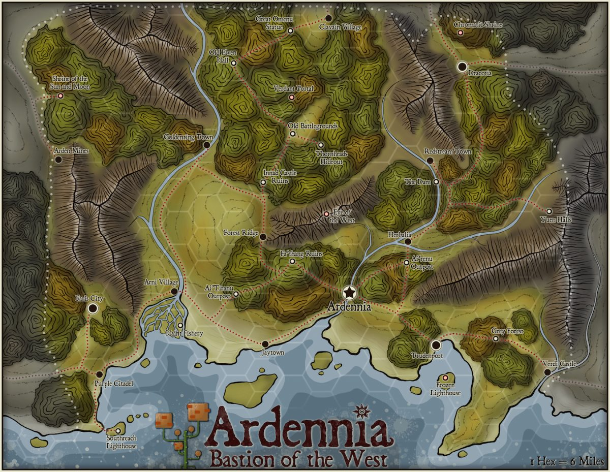 233-1 Ardennia, Bastion of the West