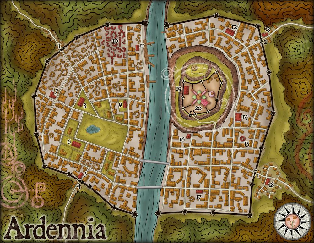 234-1 Ardennia (Capital)