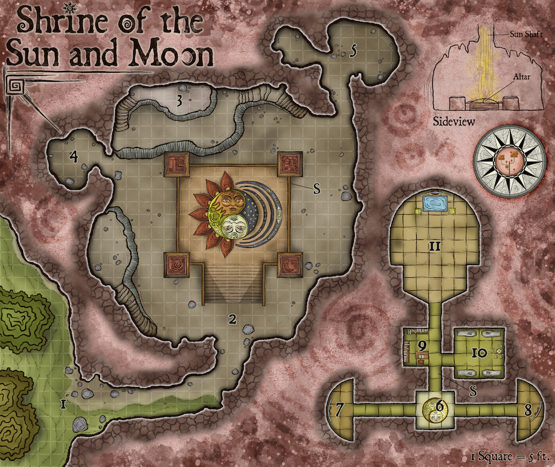 235-1 Shrine of the Sun and Moon