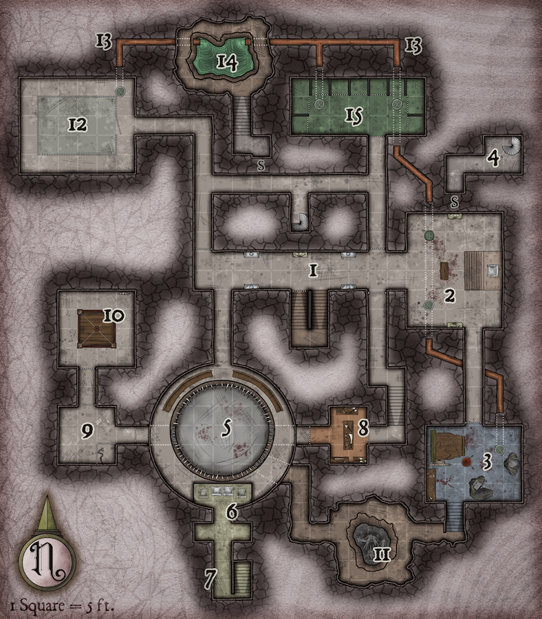 243 The Red Pit and Torture Chamber