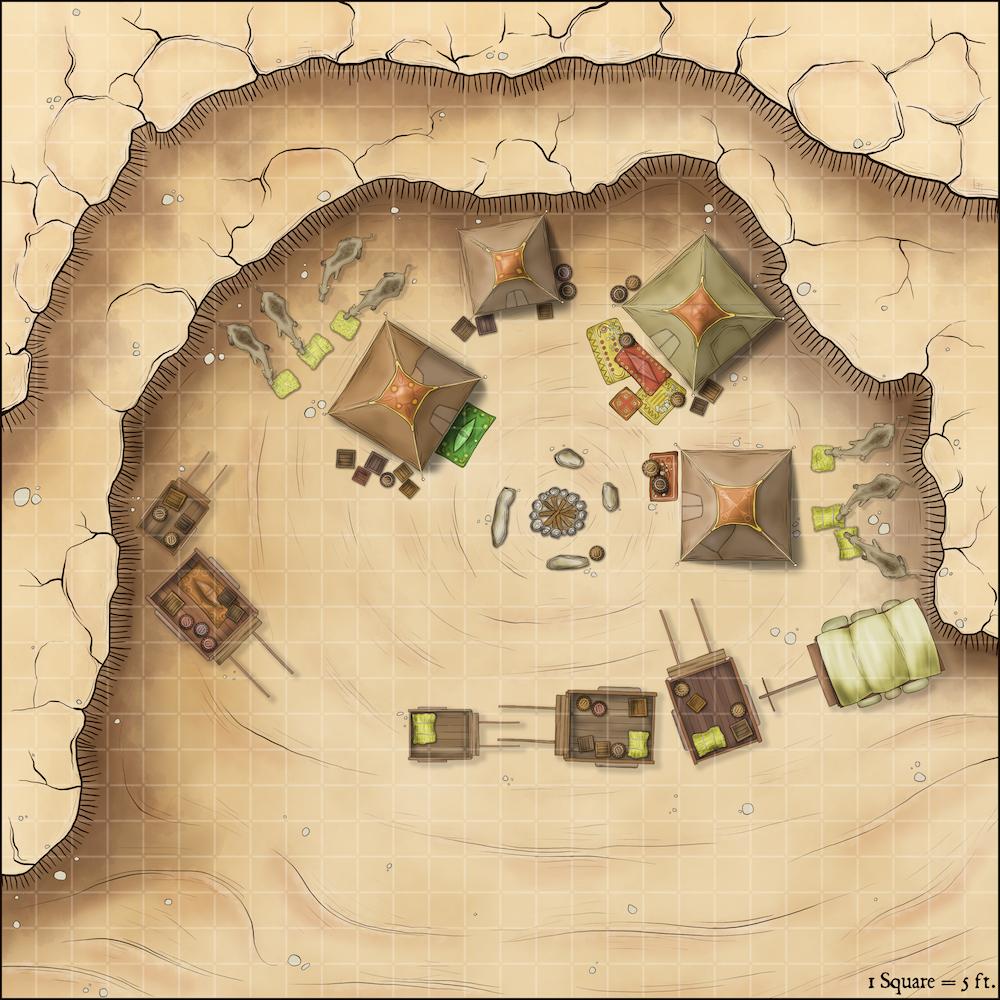 247 Dust Hole – Desert Encampment