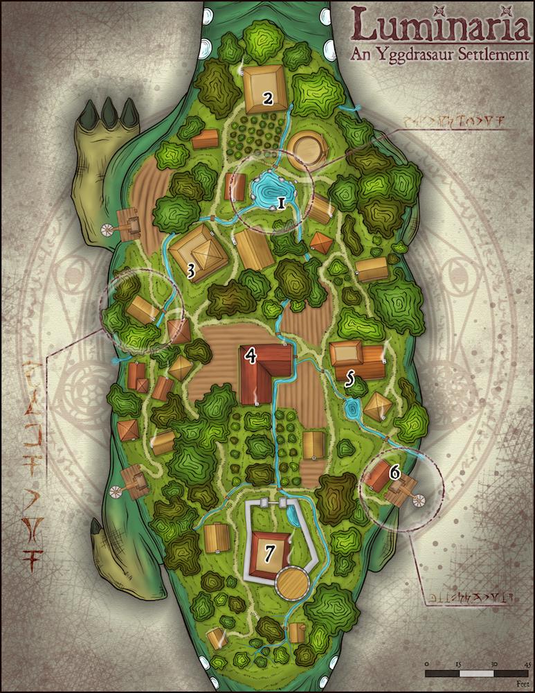 246 Luminaria, an Iggdrasaur Settlement