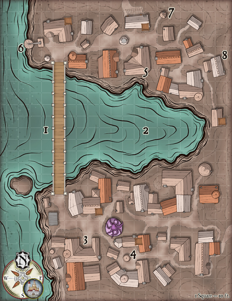 254 The Town by the Corrosive Lake