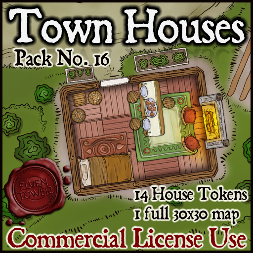 Pack No. 16 – Town Houses
