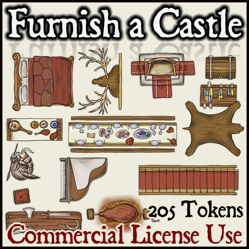 Pack No. 15 – Furnish a Castle