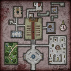 Dd Bank Vault Map