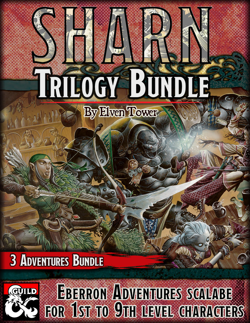 The sharn Trilogy Bundle