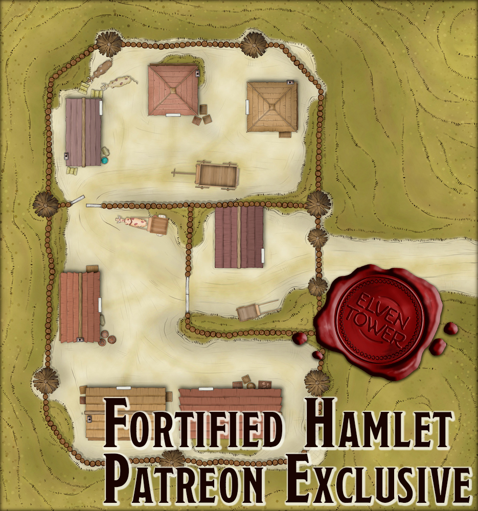 306 Fortified Hamlet (Patreon Exclusive)