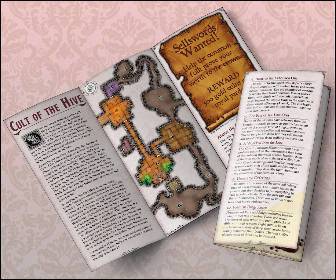 Brochure Adventure #1 – Cult of the Hive