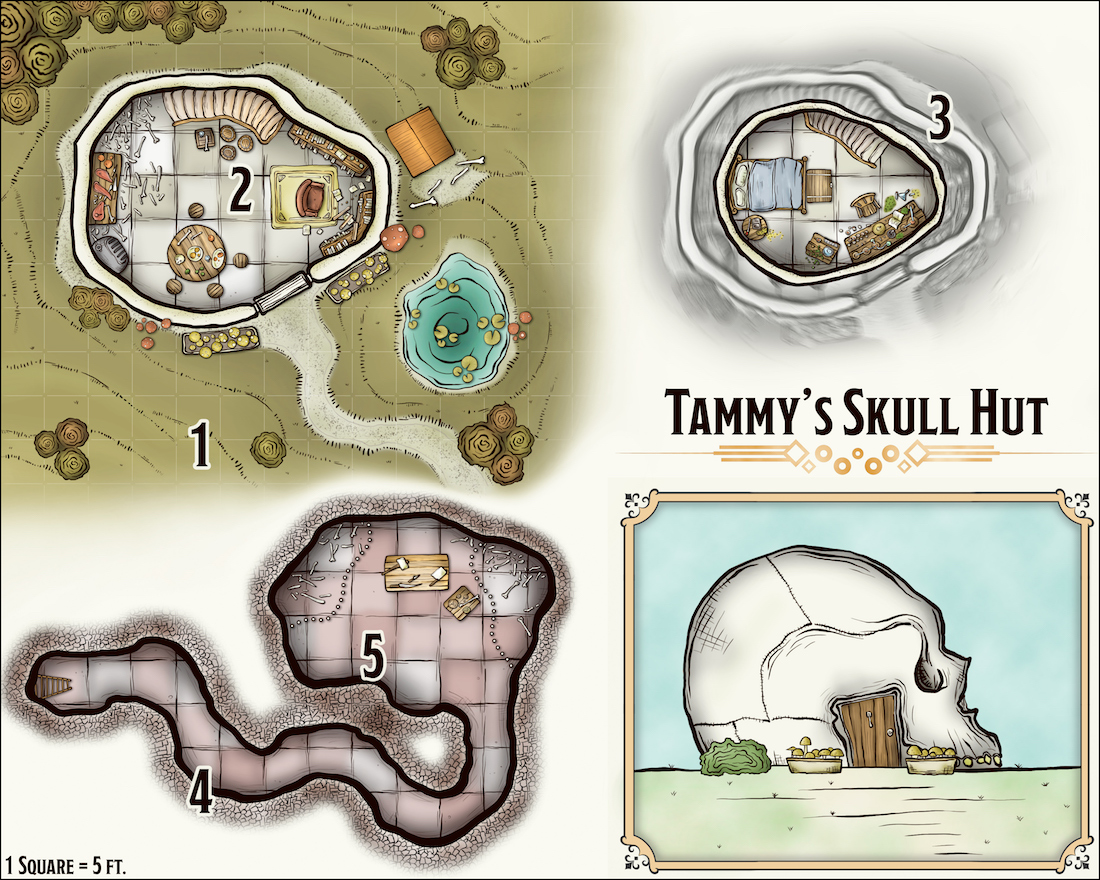 313 Tammy's Skull House