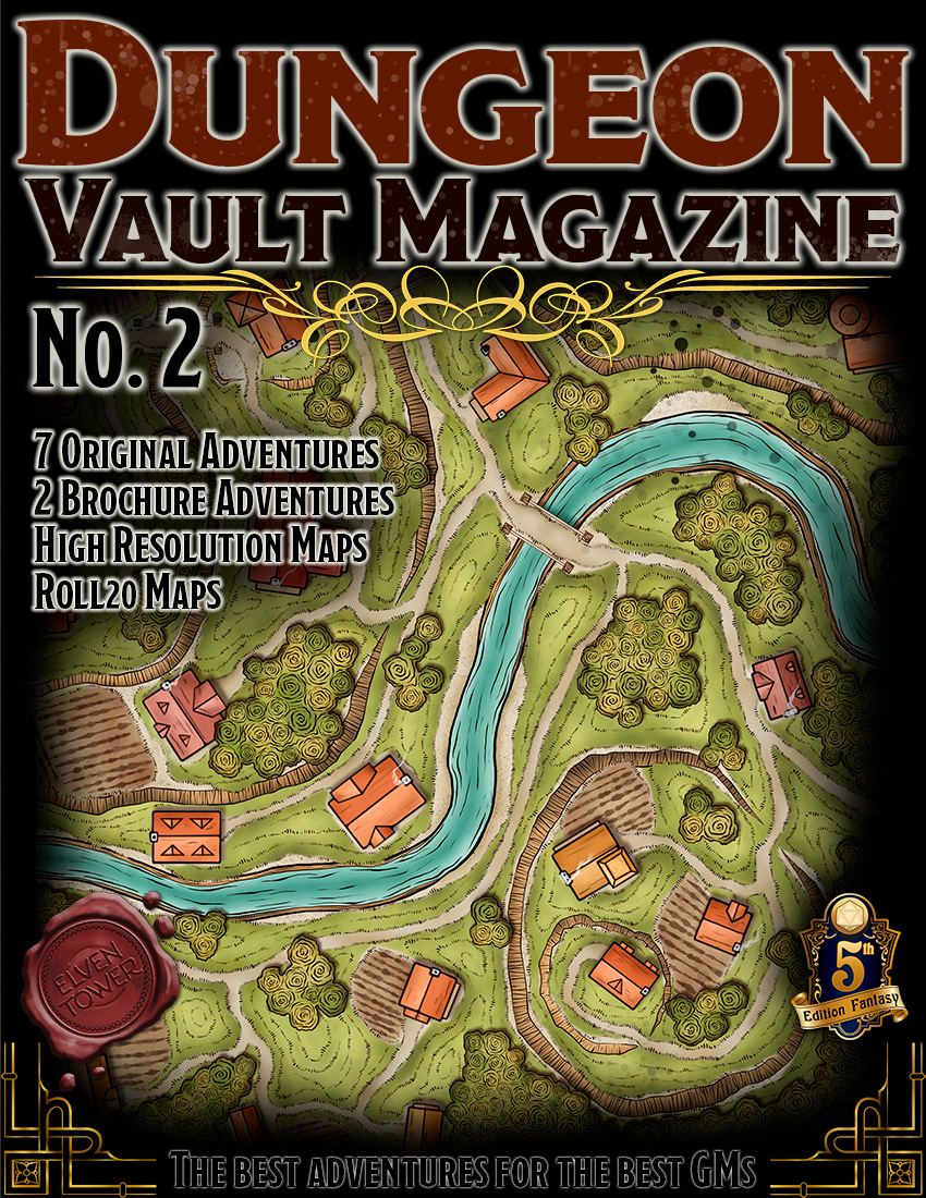 Dungeon Vault Magazine – No. 2
