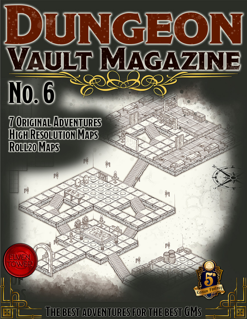 Dungeon Vault Magazine No. 6 – Published