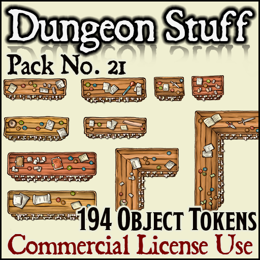Pack No. 21 – Dungeon Varied Stuff