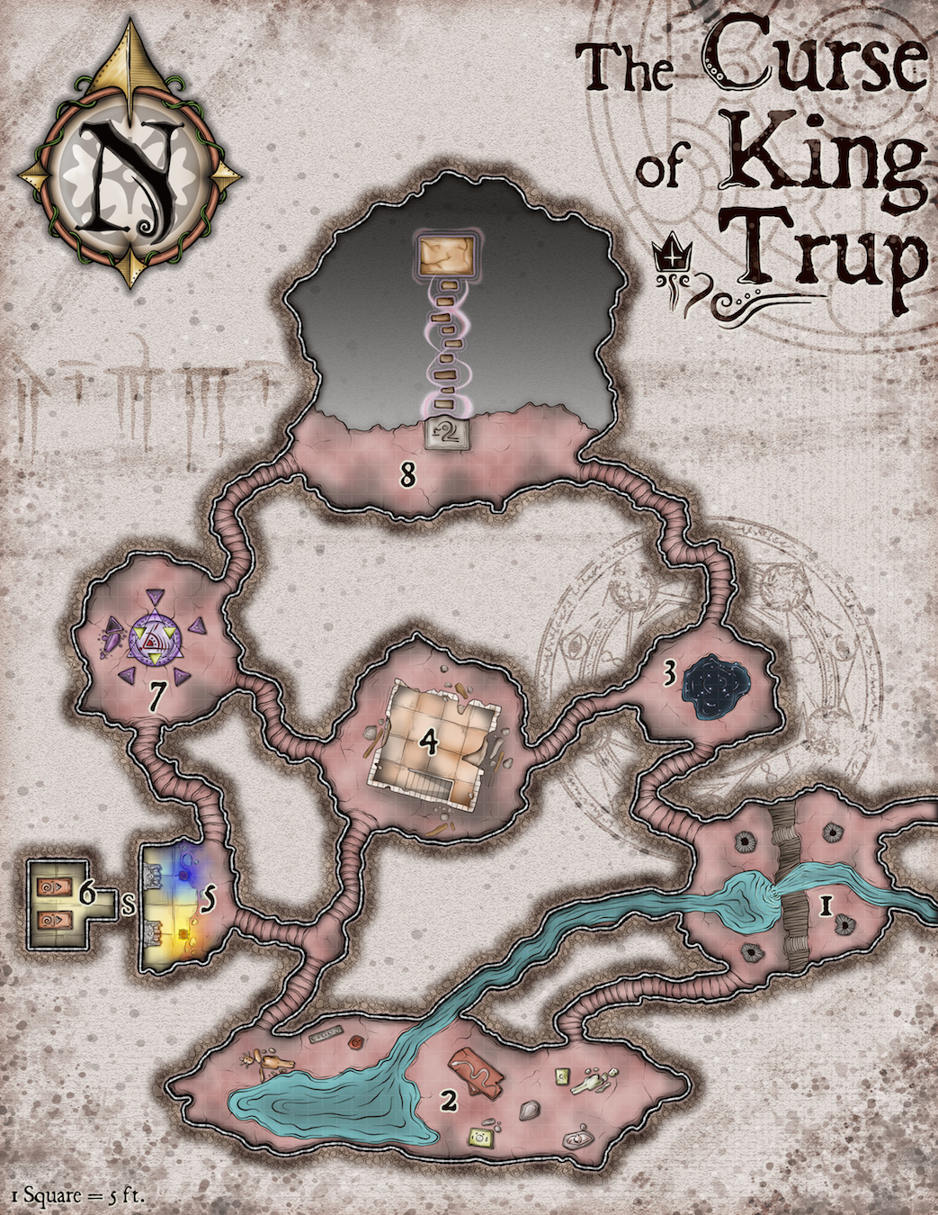 371 The Curse of King Trup