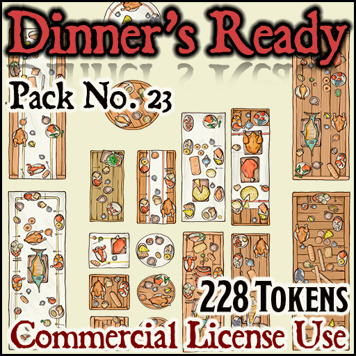 Pack No. 23 – Dinner's Ready!