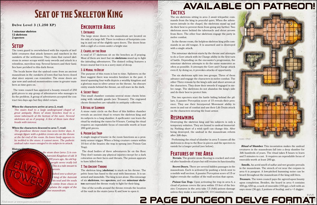380 Seat of the Skeleton King – Patreon Promo