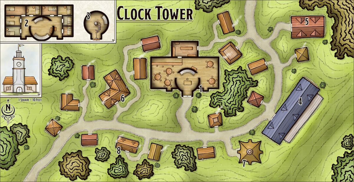 381 Clock Tower
