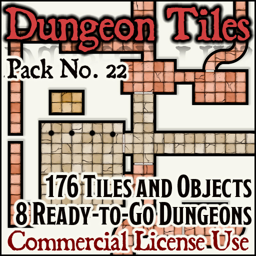 Pack No. 22 – Dungeon Tiles