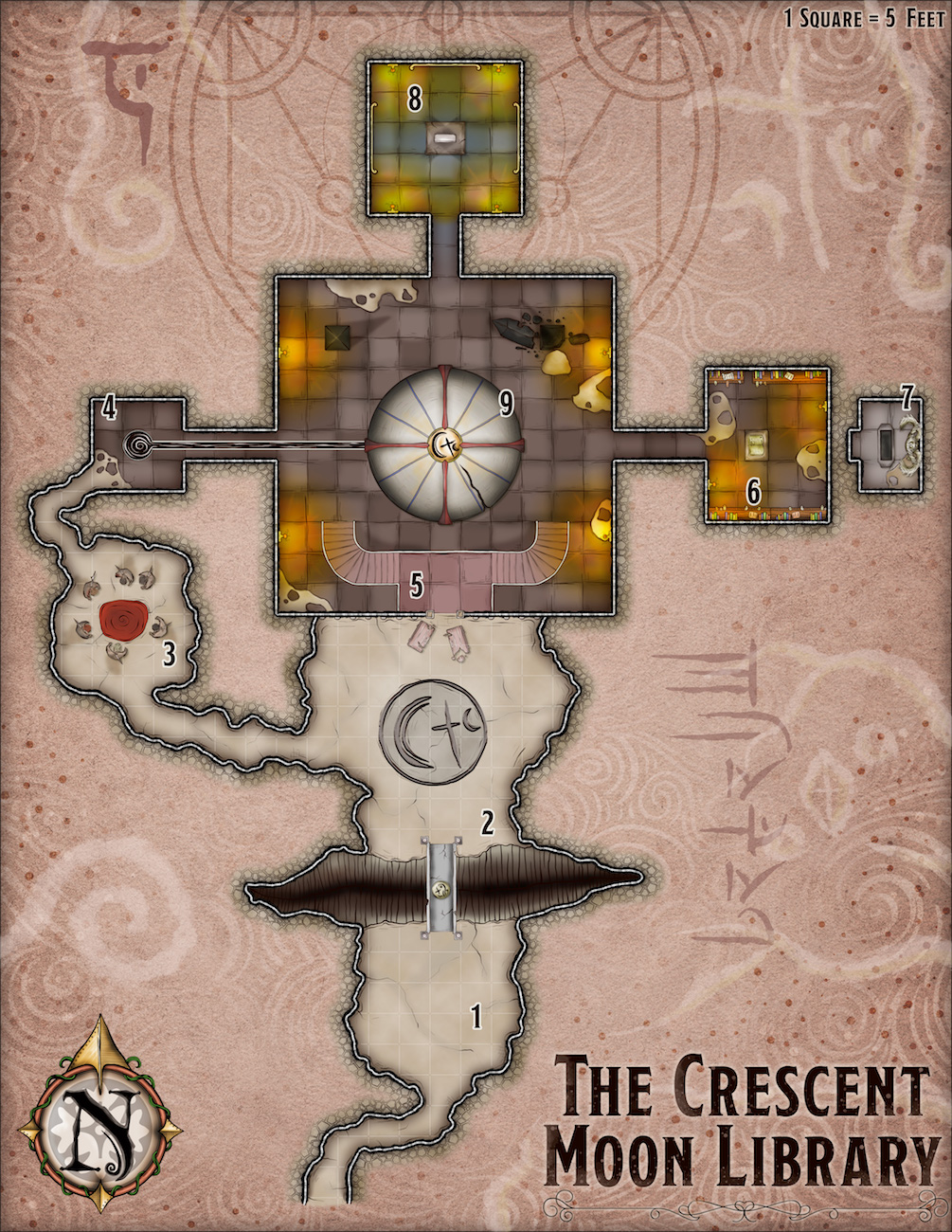 389 Library of the Crescent Moon