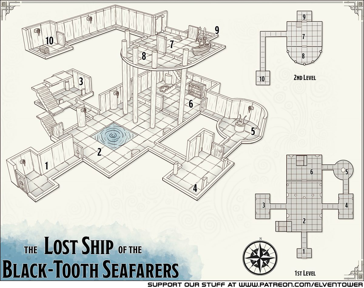 401 The Lost Ship of the Black-Tooth Seafarers